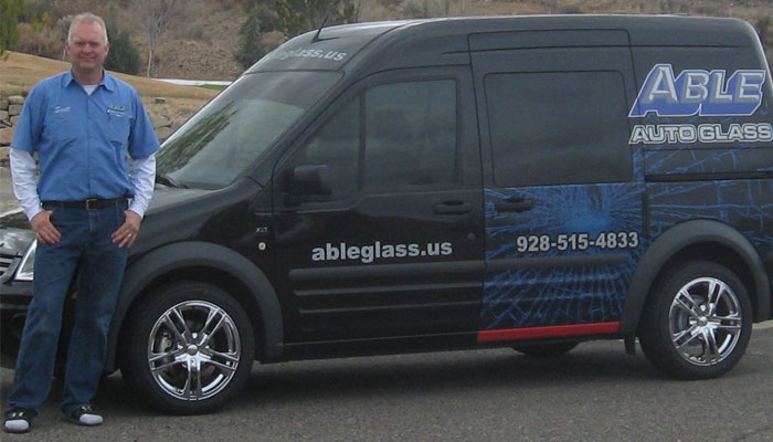 Able Auto Glass in Prescott - Mobile Windshiled Replacement and Chip Repair